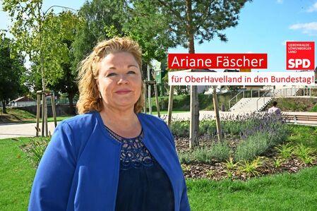 Unsere Kandidatin zur Bundestagswahl 2021: Ariane Fäscher