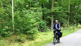 Auf dem Radweg zwischen Oranienburg und Liebenwalde
